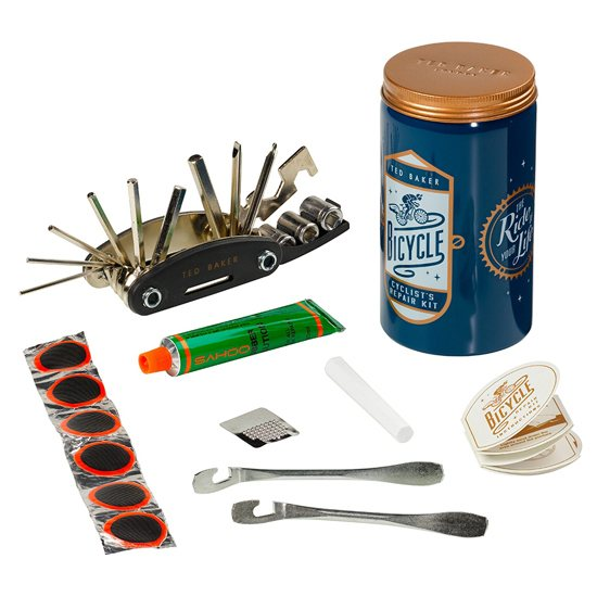 Ted Baker Ted Baker Bike Repair Kit In Tin