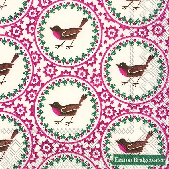 Emma Bridgewater Emma Bridgewater Joy Robin Lunch Napkins