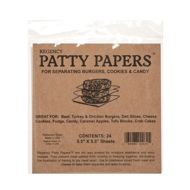 Regency Wraps Patty Papers