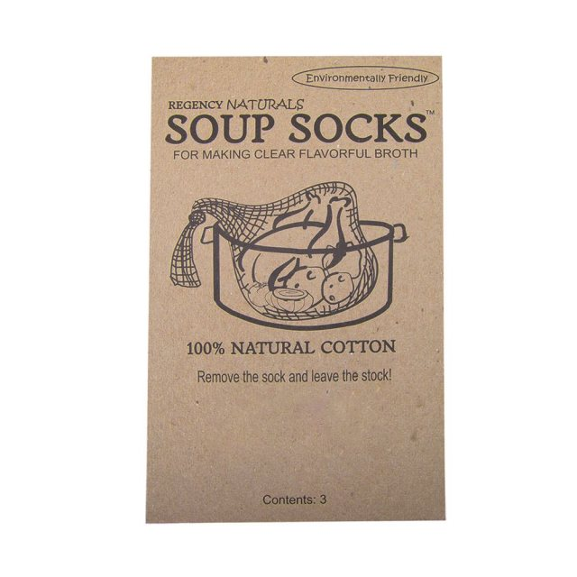 Regency Wraps Natural Soup Socks