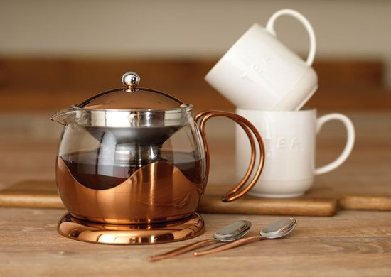 La Cafetiere La Cafetiere Origins 660ml Le Teapot Copper