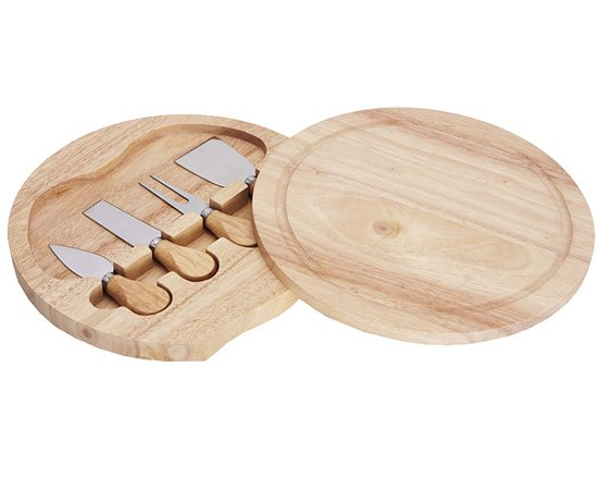 Gourmet Cheese Knife And Board Set