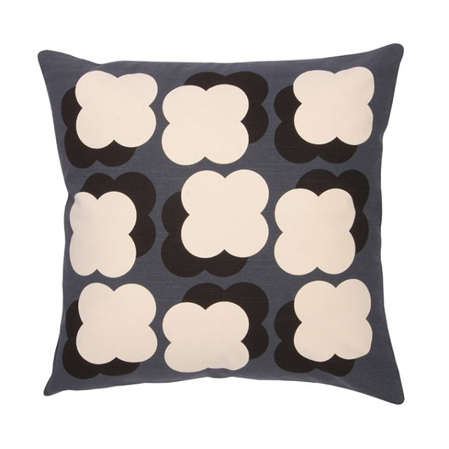 Orla Kiely Orla Kiely Shadow Flower Cushion Slate