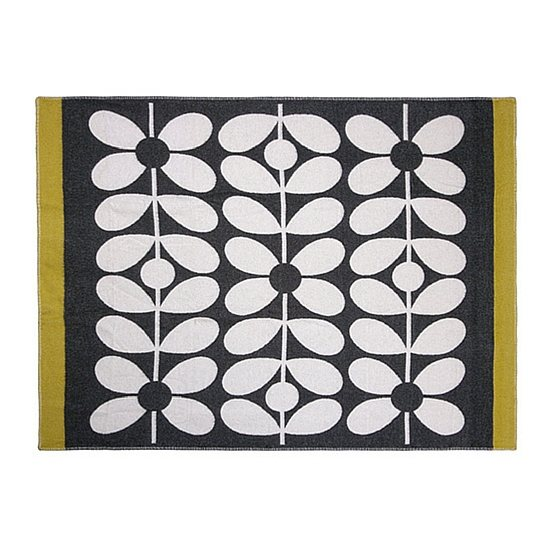 Orla Kiely Orla Kiely Sixties Stem Throw Slate