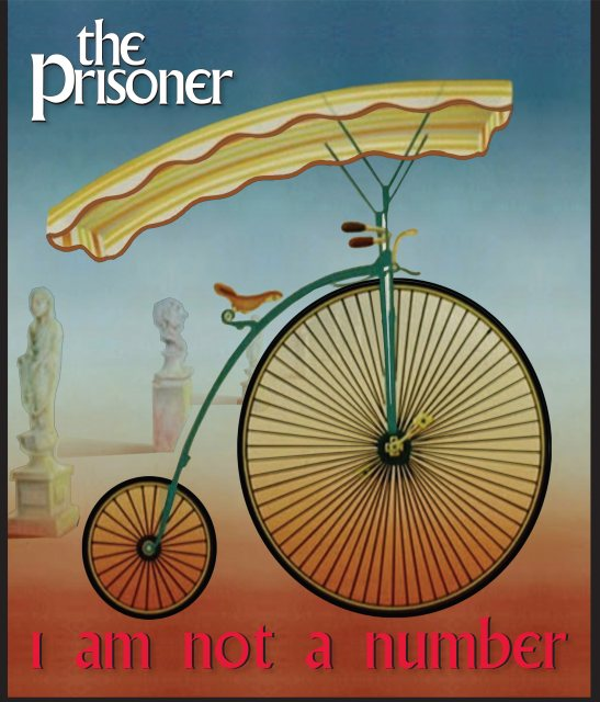 The Prisoner The Prisoner Pennyfarthing Bag