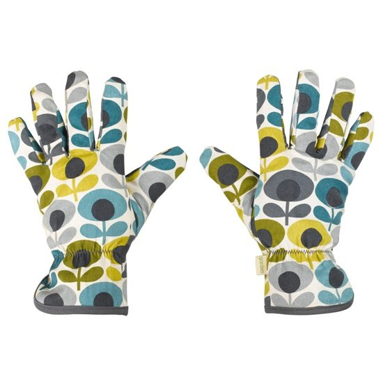 Orla Kiely Orla Kiely Multi Flower Oval Potting Gloves