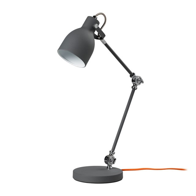 Wild & Wolf Task Lamp Concrete Grey