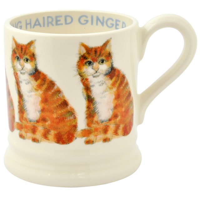 Emma Bridgewater Emma Bridgewater Ginger Tom Cat 1/2pt Mug