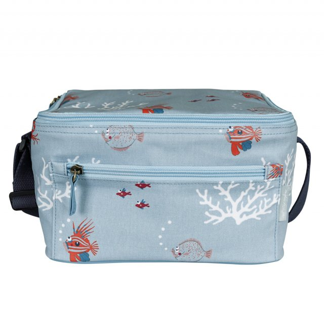 Sophie Allport Sophie Allport Oilcloth Lunchbag What A Catch!