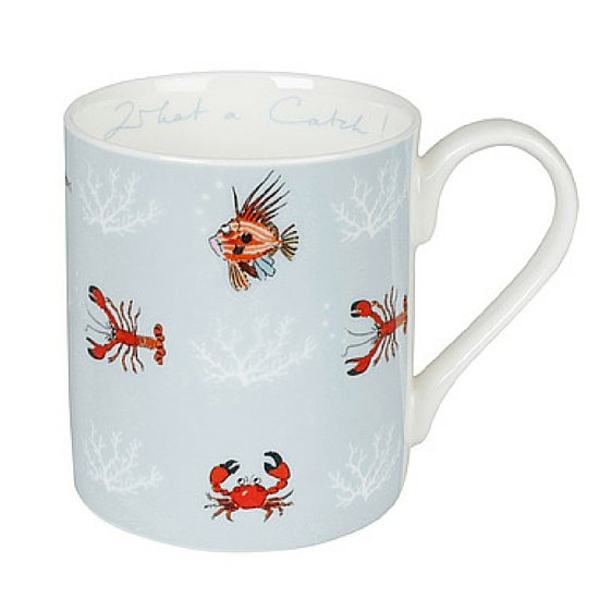 Sophie Allport Mug What A Catch Coloured