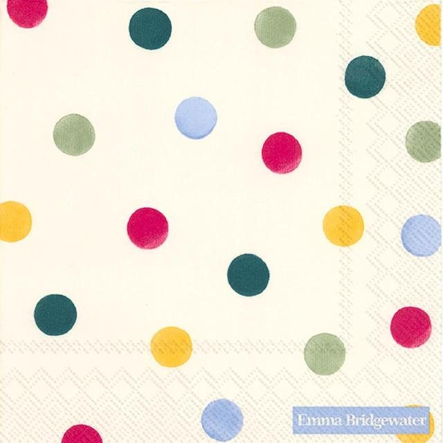 Emma Bridgewater Emma  Bridgewater Polka Dot Lunch Napkins