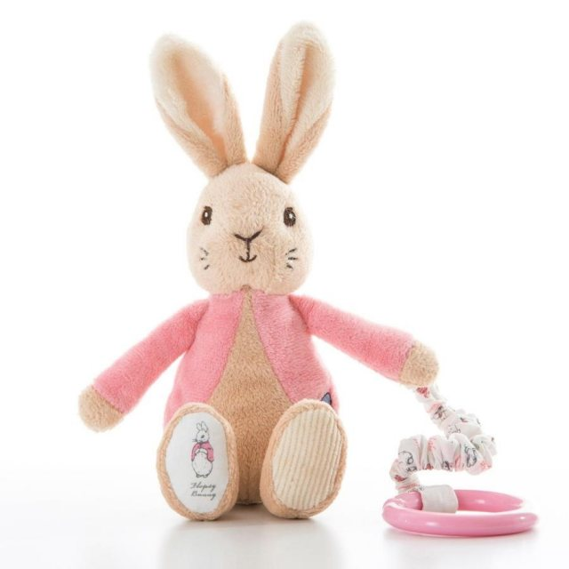 Peter Rabbit Flopsy Bunny Attachable Soft Toy