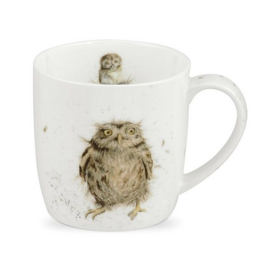 Portmeirion Royal Worcester Wrendale What a Hoot Fine Bone China Mug