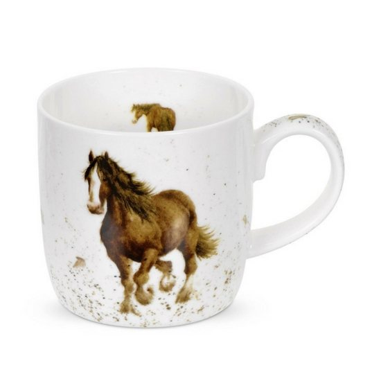Portmeirion Gigi Horse China Mug