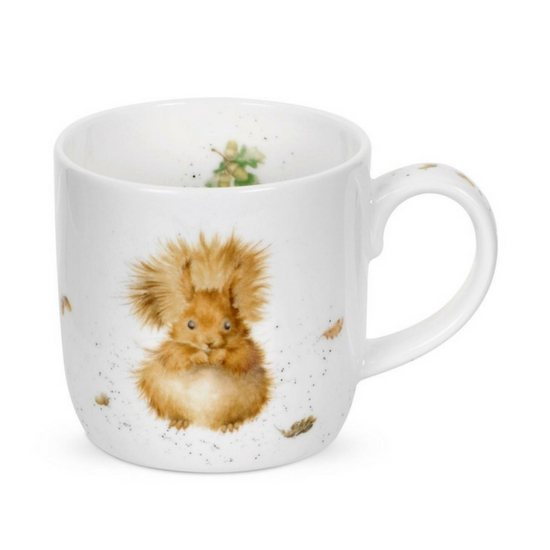 Portmeirion MM Treetops Redhead Squirrel China Mug