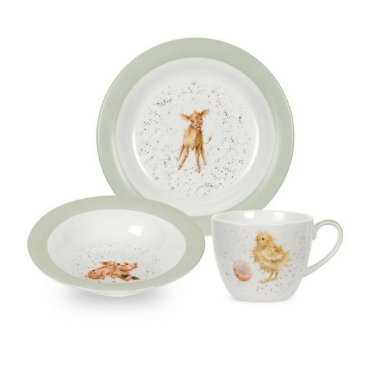 Portmeirion Nursery 3 Piece Set