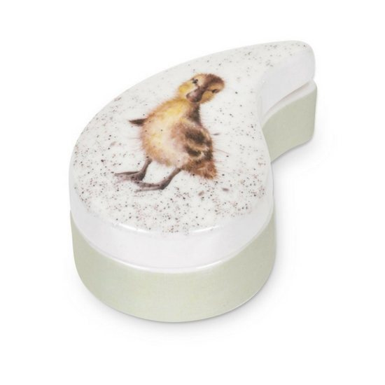 Portmeirion Nursery Trinket Box Duckling