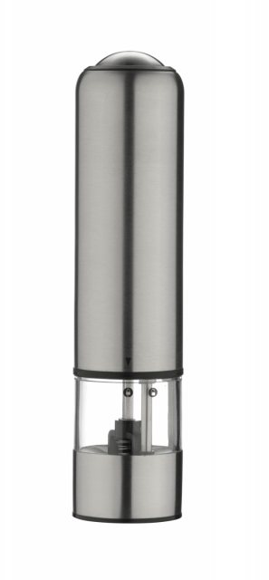 Grunwerg Gmill Stainless Steel Electric Pepper Mill