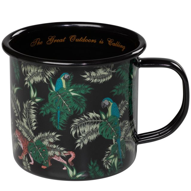Ted Baker Ted Baker Jungle Print Enamel Mug