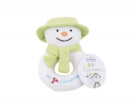 The Snowman Snowman My First Christmas Jingle Bell Ring Rattle
