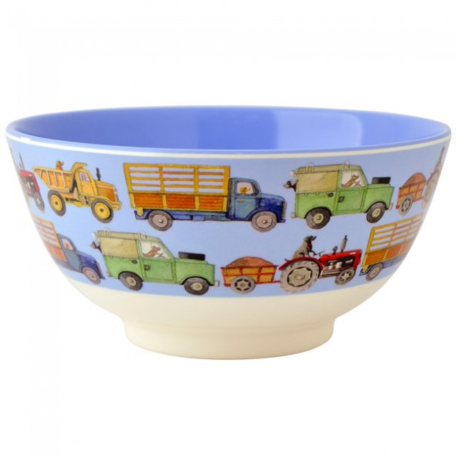 Emma Bridgewater Emma Bridgewater Men At Work Melamine Bowl