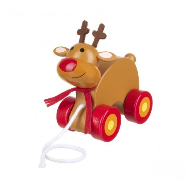 Orange Tree Reindeer Pull Along