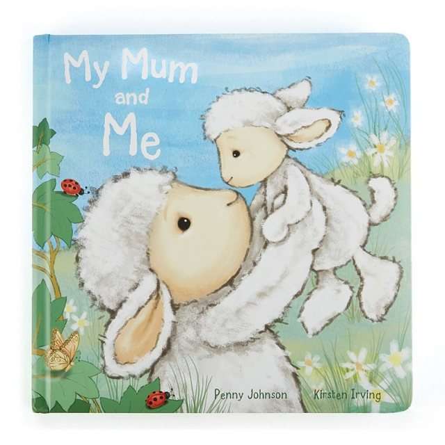 Jellycat Soft Toys Jellycat My Mum And Me Book