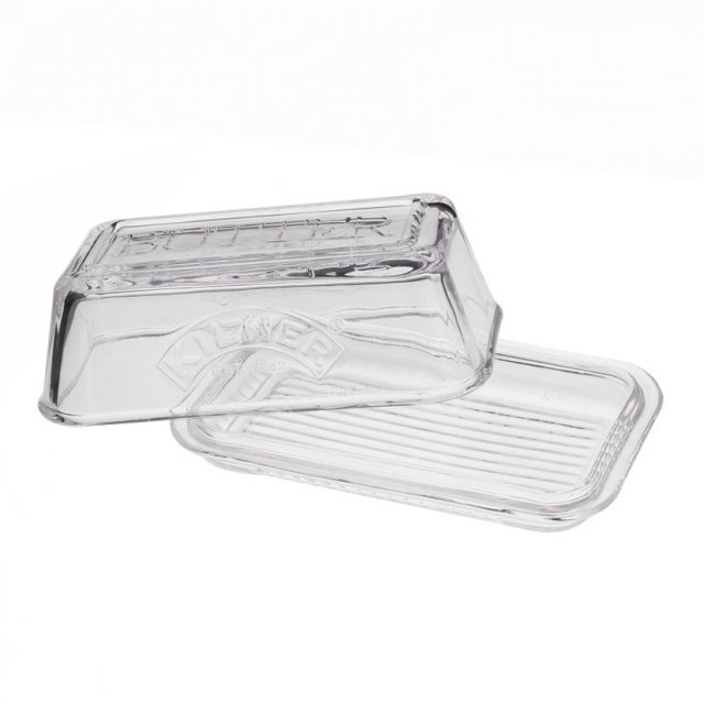 Kilner Kilner Glass Butter Dish