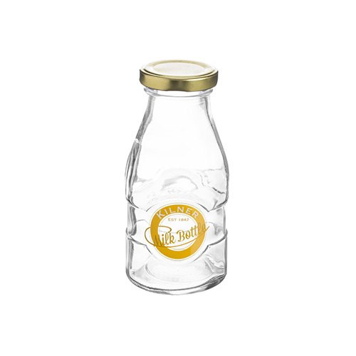 Kilner Kilner Glass Milk Bottle 189ml
