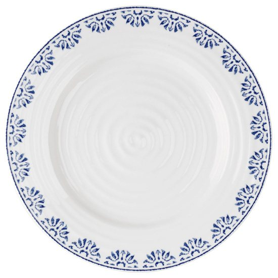 Portmeirion Sophie Conran Blue Bistro Plate Betty