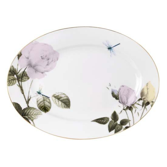 Ted Baker Portmeirion Ted Baker Portmeirion Rosie lee White Oval Platter