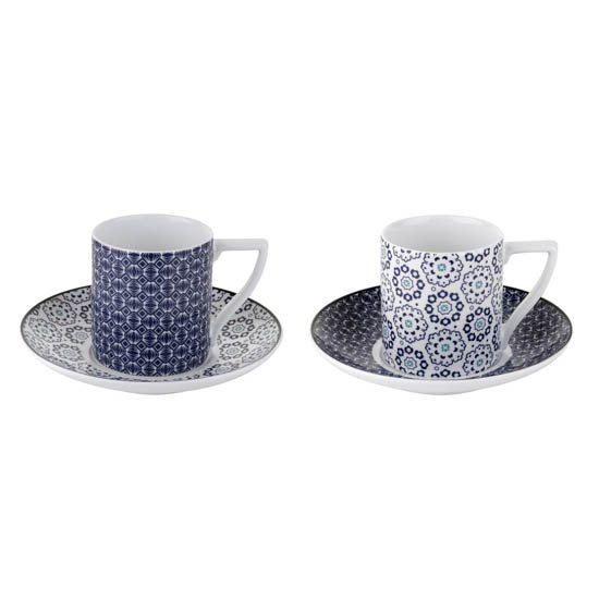 Ted Baker Portmeirion Ted Baker Ancona Espresso Cup & Saucer Set of 2