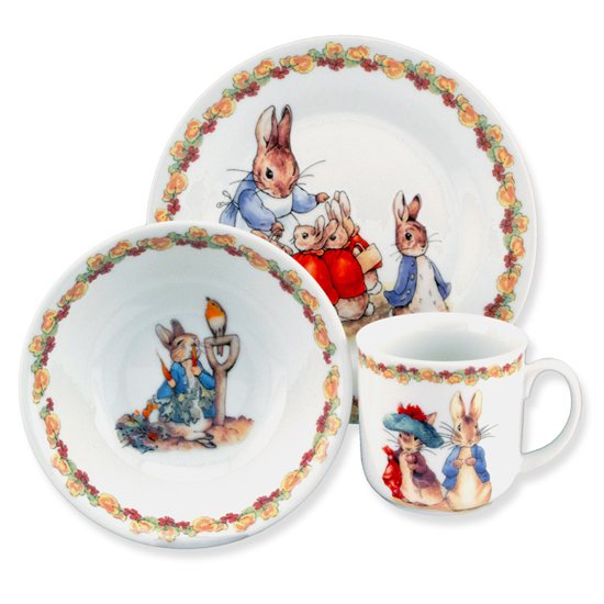 Peter Rabbit Beatrix Potter Peter Rabbit Collection 3 Piece Por