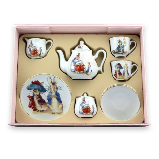 Peter Rabbit Beatrix Potter Peter Rabbit Teaset For Two