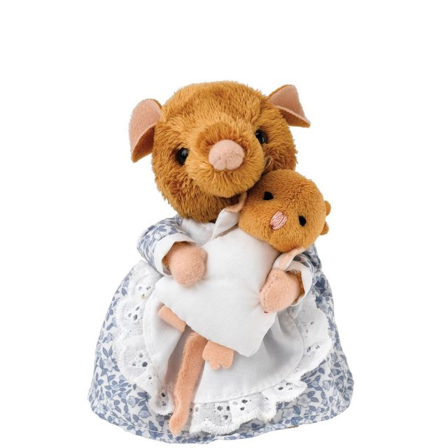 Peter Rabbit Hunca Munca and Baby Small Soft Toy