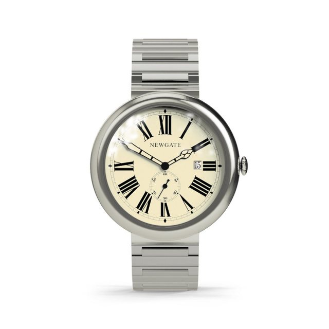Newgate Liberty Watch Grand Roman Dial - Stainless Steel