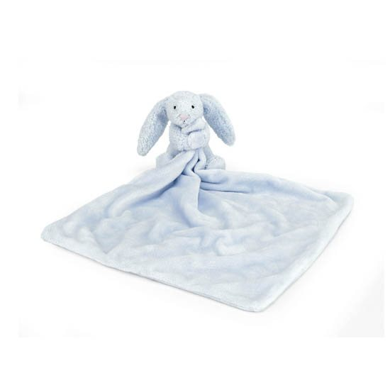 Jellycat Soft Toys Jellycat Bashful Blue Bunny Soother