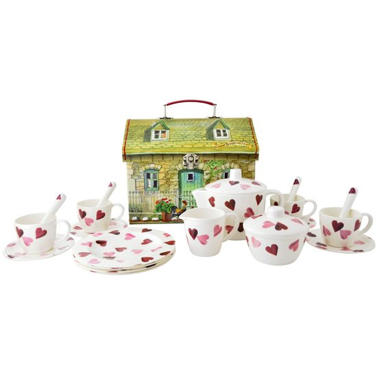Emma Bridgewater Emma Bridgewater Hearts 19 Piece Tea Set