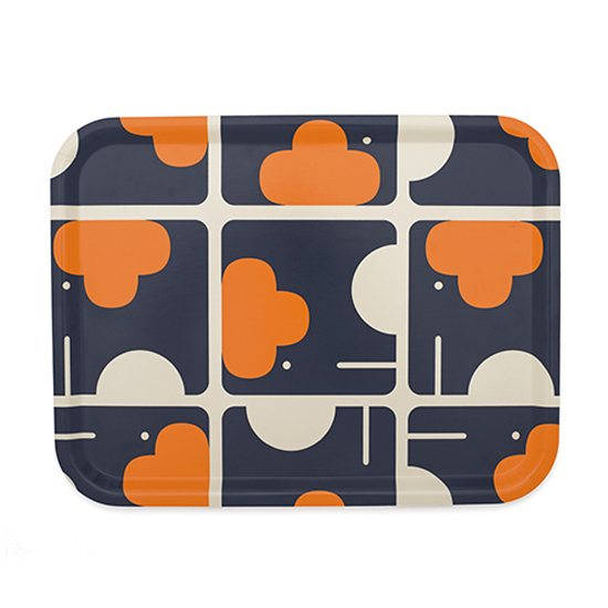 Orla Kiely Tray Large Elephant