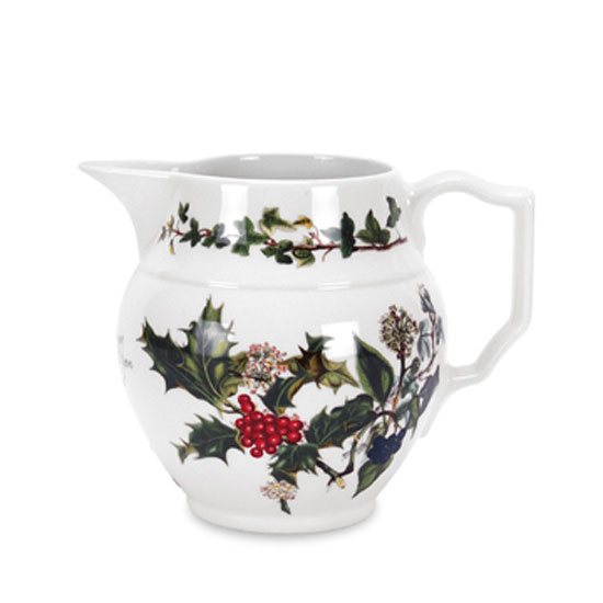 Portmeirion The Holly & The Ivy Staffordshire Half Pint Jug