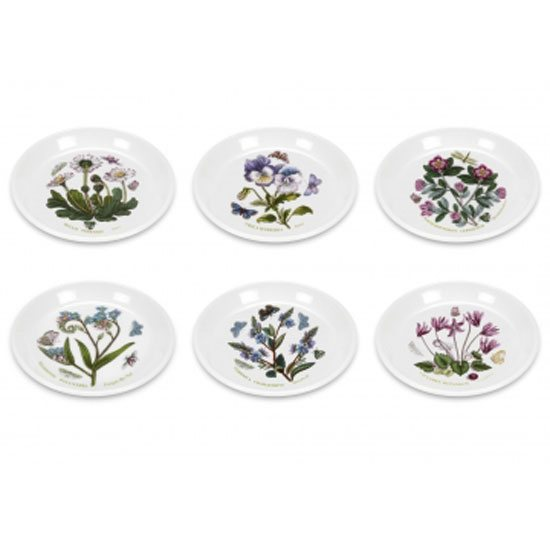 Portmeirion Botanic Garden Set of 2 Sweet Dishes