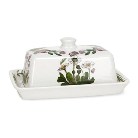 Portmeirion Botanic Garden Covered Butter Dish