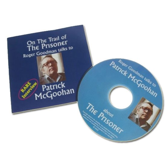 The Prisoner Patrick McGoohan Interview CD: On the Trail of The