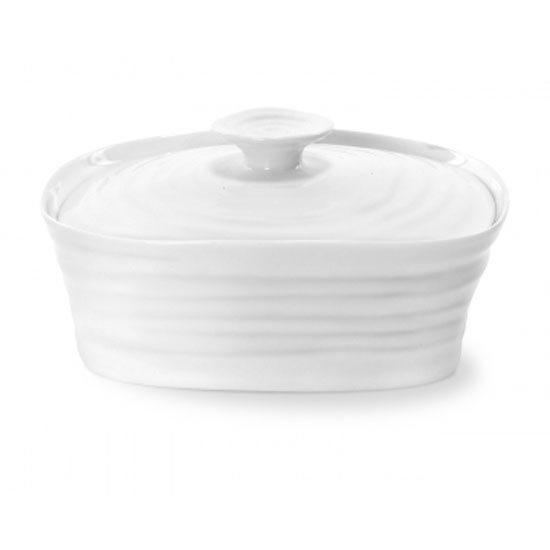 Sophie Conran Sophie Conran for Portmeirion White Covered Butter Dish