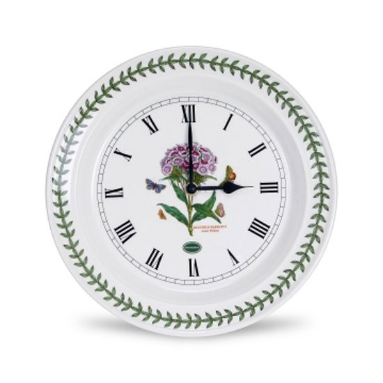 Portmeirion Botanic Garden Sweet William Wall Clock