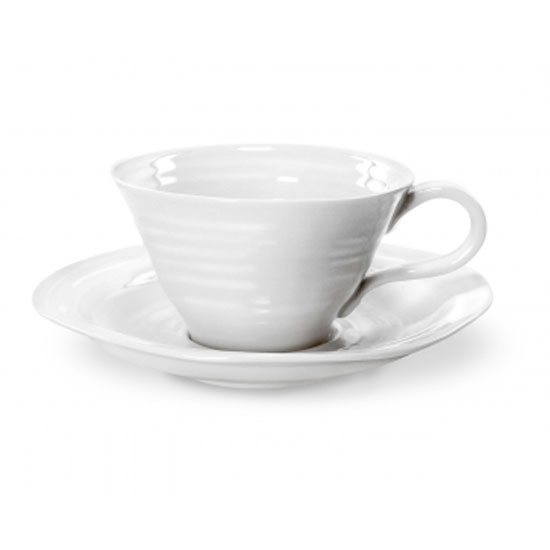 Sophie Conran for Portmeirion Sophie Conran for Portmeirion White Teacup & Saucer