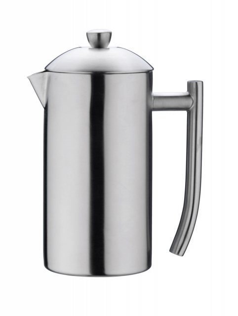 Grunwerg 3-Cup Plunger Coffee Maker Satin
