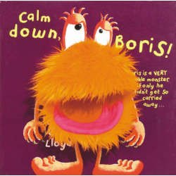 Calm Down Boris Novelty Book