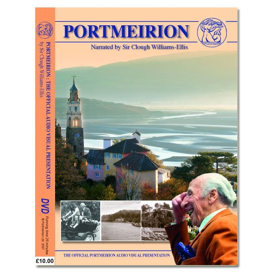 Portmeirion Cymru The Official Portmeirion Audio Visual Presentation (DVD)