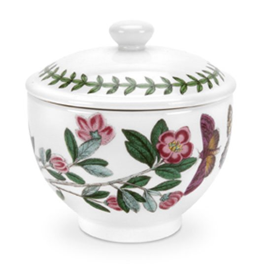 Portmeirion Botanic Garden Covered Sugar Bowl - Traditional Sh